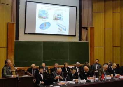 Dynamics SPC participation in The Russian Academy of Engineering convention