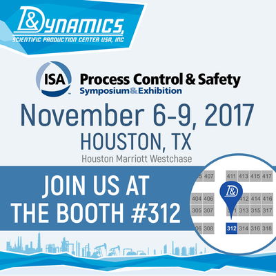Visit our booth #312 at the Process Control and Safety Symposium and Exhibition
