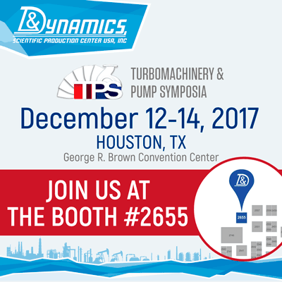 Visit our booth #2755 at the Turbomachinery & Pump Symposia (TPS)